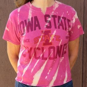 Iowa State Cyclones Custom Crop Top sz S